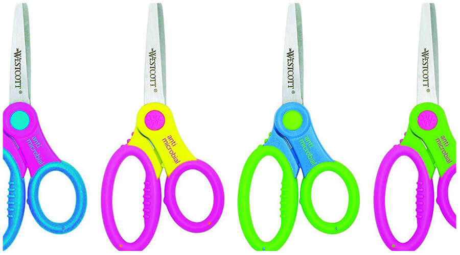 Blunt Tip Scissors for kindergarten