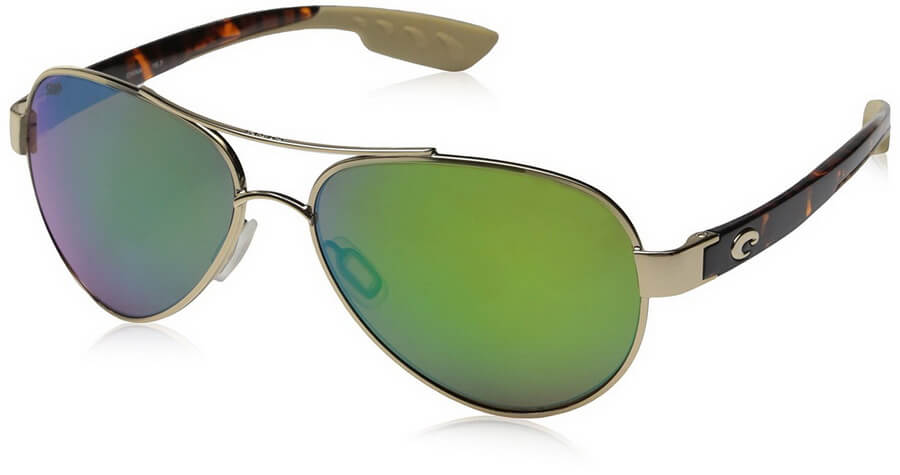 Costa Del Mar Loreto Sunglasses - Built by hand and 100% polarized