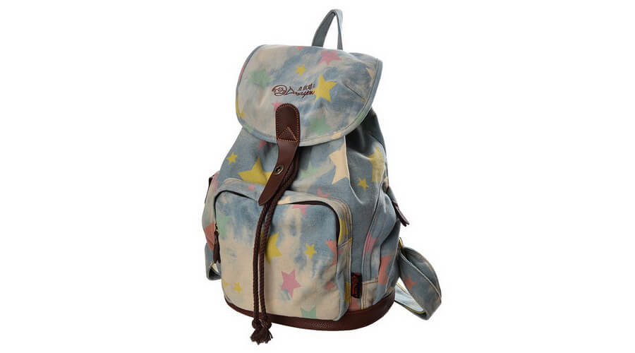 DGY Women Retro Canvas Backpack
