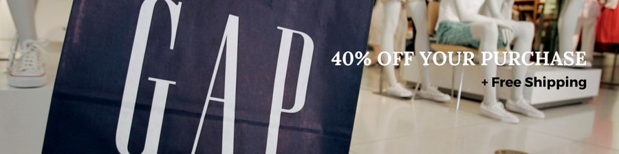 Gap Promo Codes - 40% OFF Your Purchase