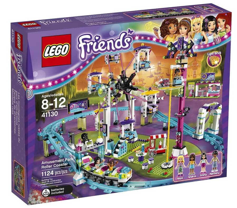 LEGO Friends Amusement Park Roller Coaster - Best For Girls