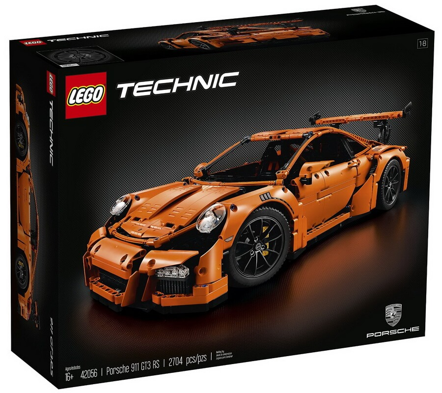 LEGO TECHNIC Porsche 911 GT3 RS - Best Building Toy