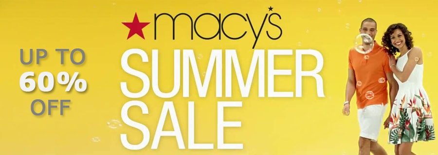 Macy's - Up to 60% Off Select Summer Essentials