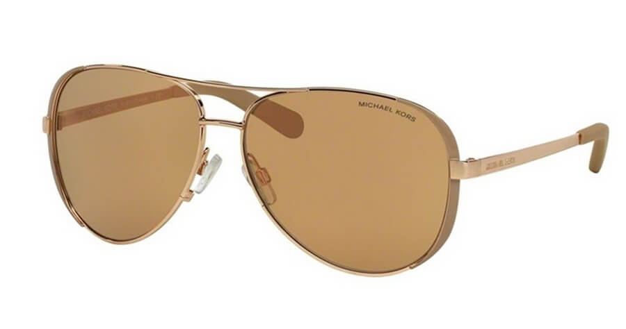 Michael Kors Chelsea Rose Gold Sunglasses - Coolest of Cool and Complements any Outfit