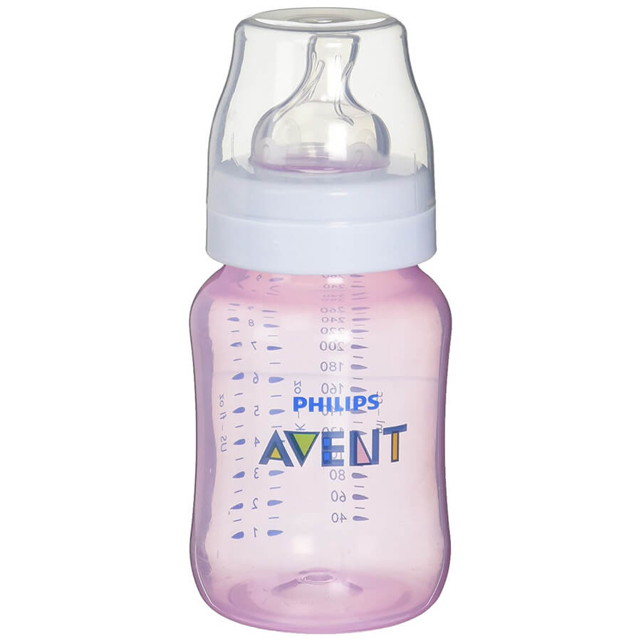 Philips Avent Anti-Colic Baby Bottle - Clinically proven to reduce colic