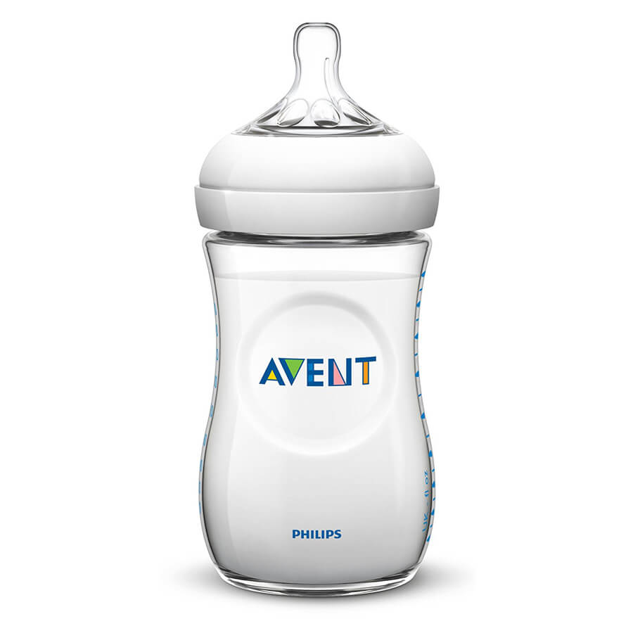 Philips Avent BPA Free Natural Polypropylene Bottle with Advanced Anti-colic System
