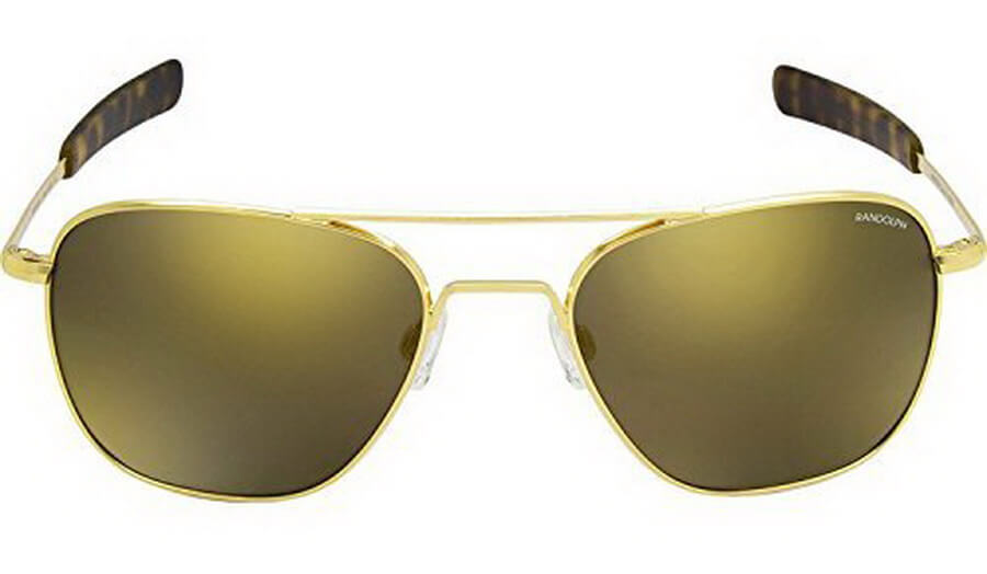 Randolph Aviator Sunglasses - Handcrafted with Durability Coating to Prevent Scratches