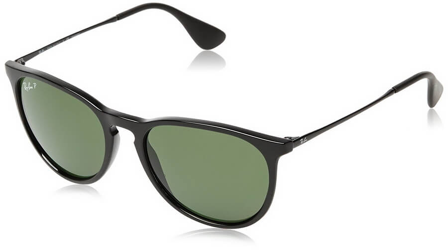 Ray-Ban Erika Men's Polarized Sunglasses - 100% UV Protection Coating