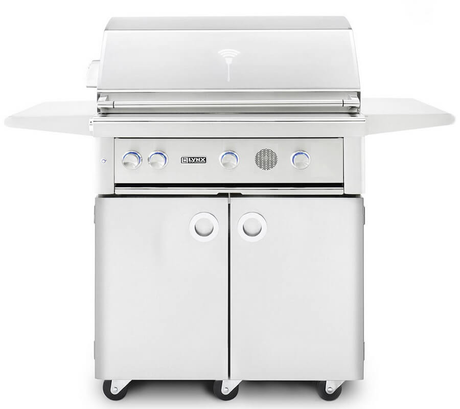 Smart Grill by Lynx 42-Inch Freestanding with Rotisserie - best gift for dad who loves to cook