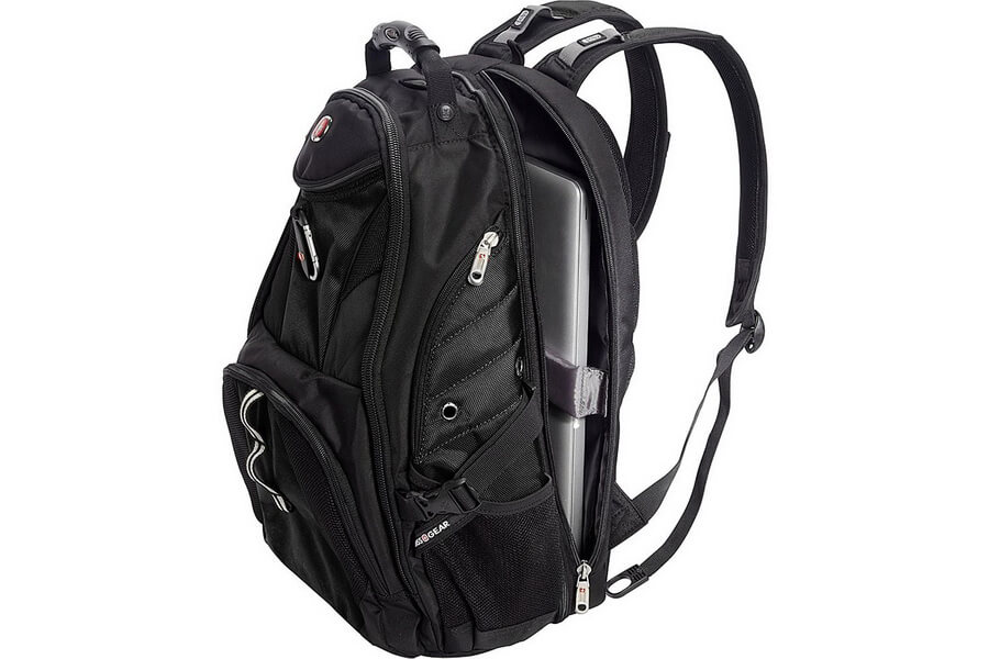 SwissGear Travel Gear Scansmart TSA Laptop Backpack