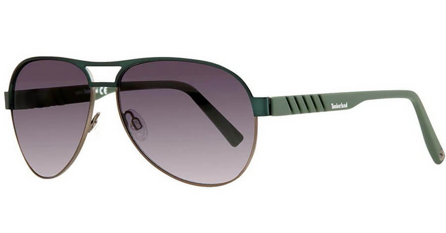 Timberland Men's Gradient Sunglasses - Stylish Metal Frame with Gradient Lenses