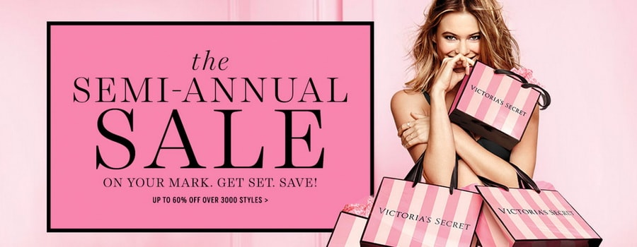 Victoria's Secret - Shop Semi-Annual Sale