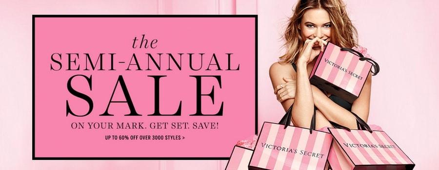 Victoria's Secret - Shop Semi-Annual Sale