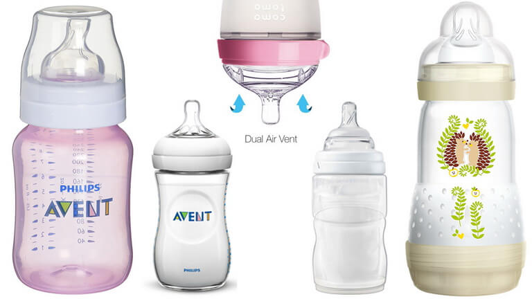 2019 Best Anti-colic Feeding Bottles for Newborns