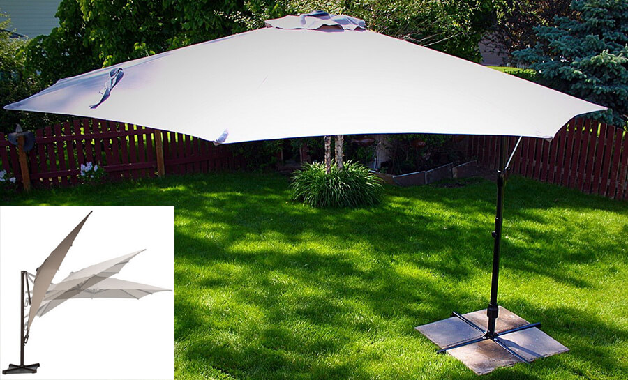 10 feet Offset Cantilever Umbrella