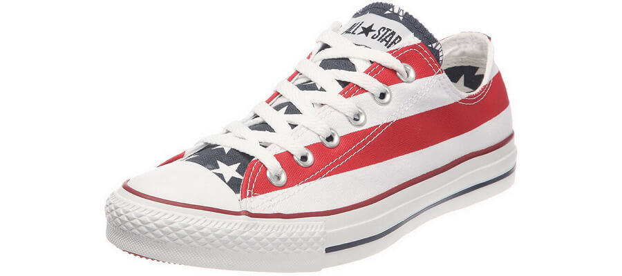 Converse All Star American Flag Sneakers