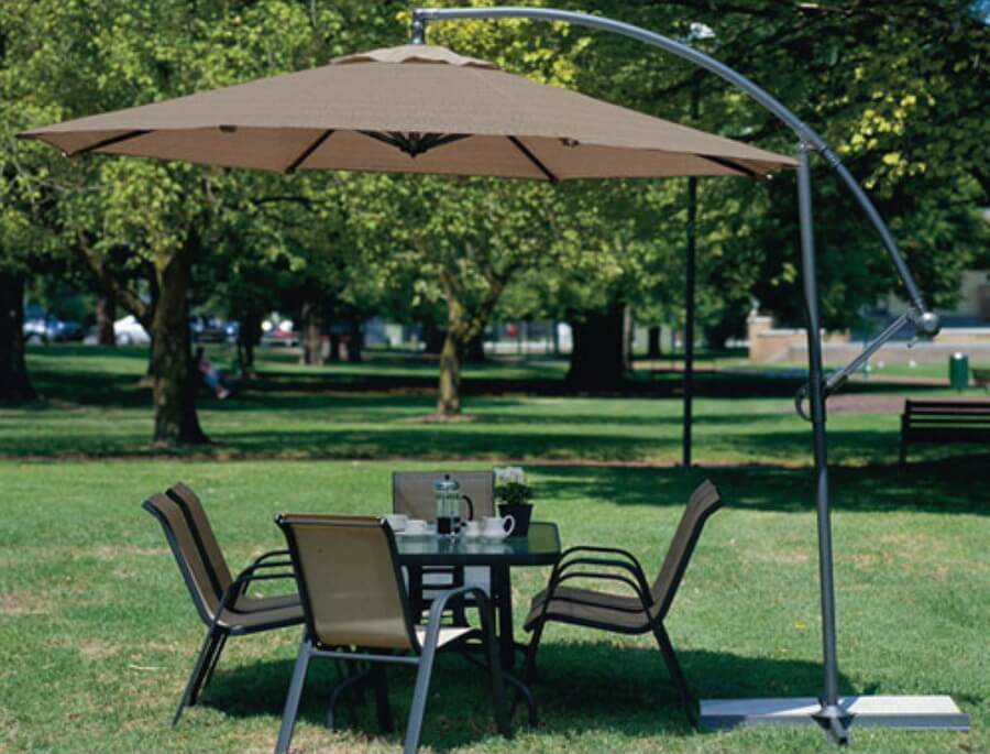 Coolaroo 10-ft. Offset Patio Umbrella