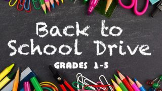 Back-to-School Supplies List for Elementary School