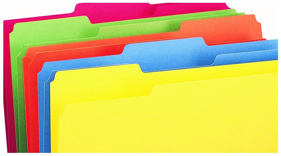 Folders for kindergarten