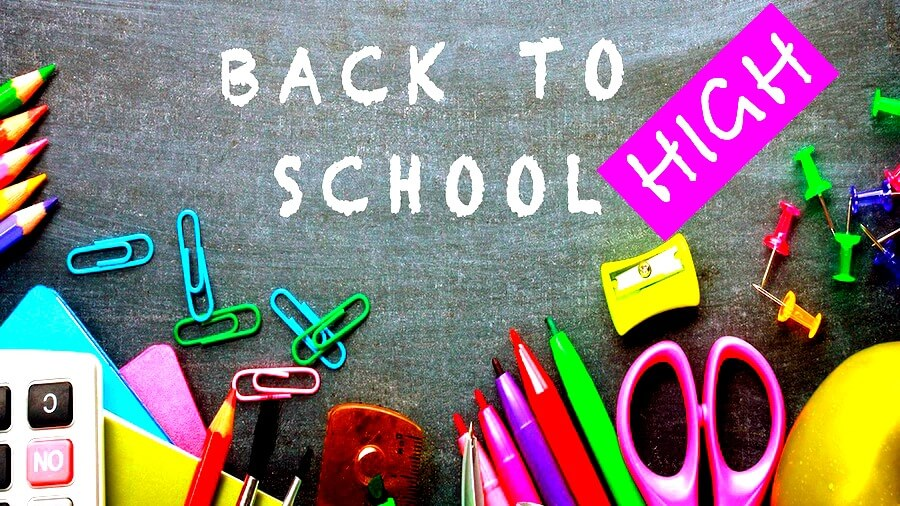 Back-to-School Supplies List for Middle and High School