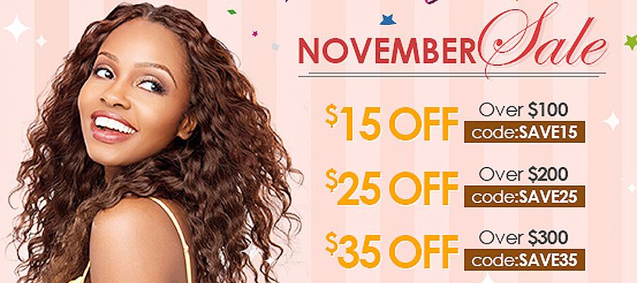 lace wigs November sale