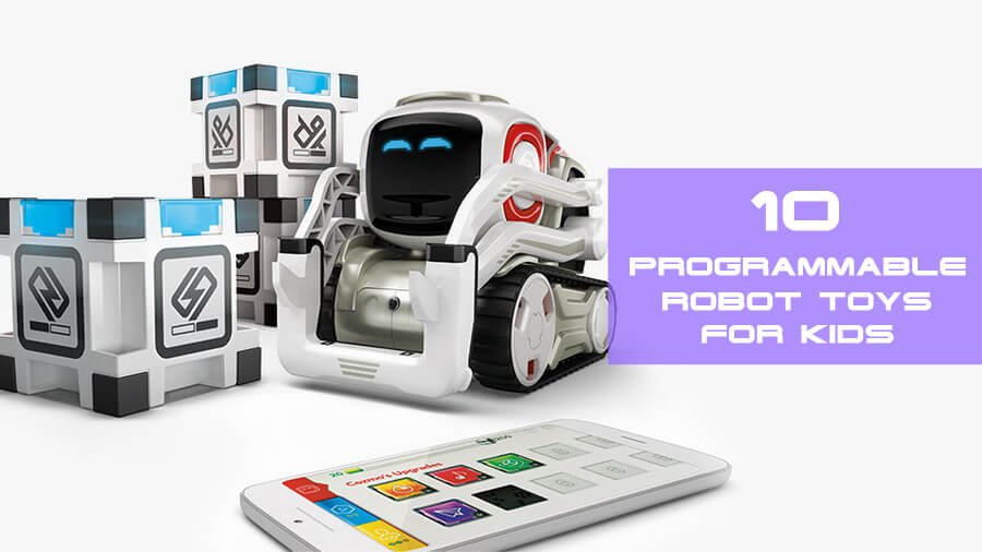 Programmable robot toys for kids