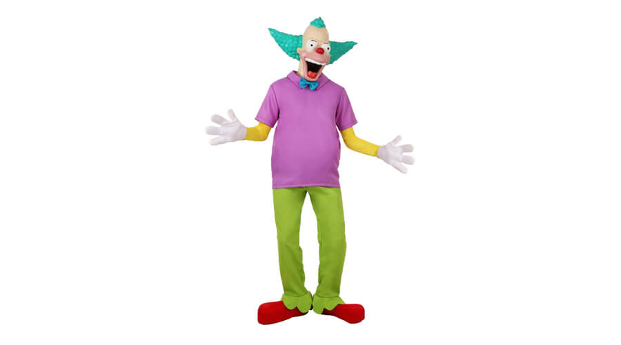 The Simpsons Krusty The Clown Halloween Costume