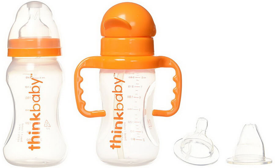 Thinkbaby All In One Bottle with Extra Soft Nipples