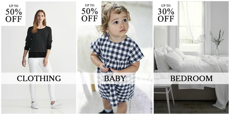 The White Company Mid-Season Sale on Clothing