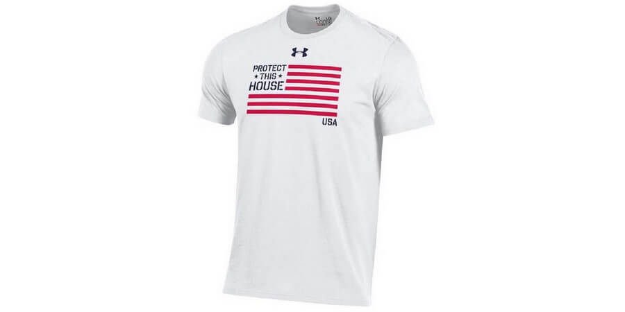 Under Armour USA Patriotic Charged Cotton T-Shirt