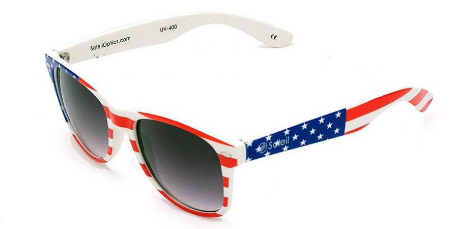 Logan USA Patriot Flag Sunglasses