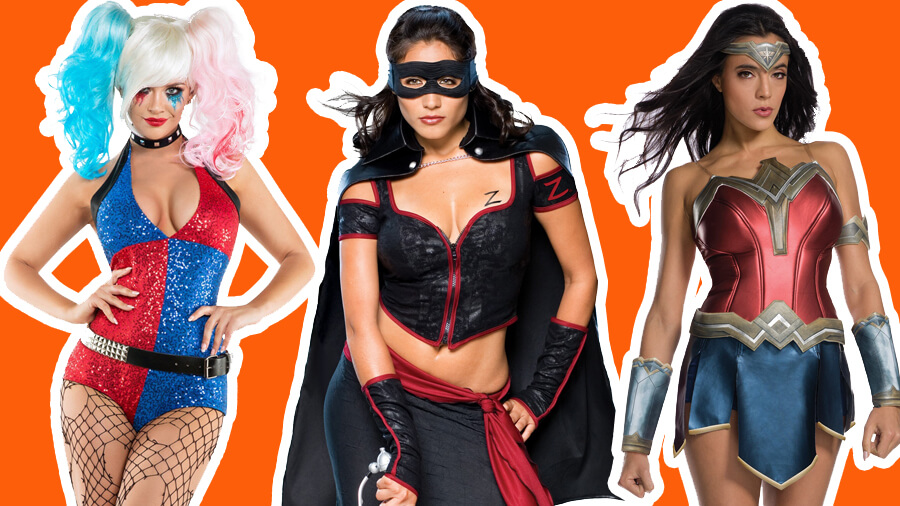 Women's Superhero & Villain Costumes for Halloween